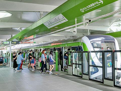 捷運G1站示意圖